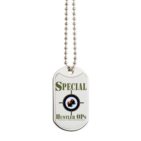 Special Hustler Ops Billiards Dog Tags