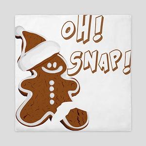 OH SNAP Gingerbread Man Queen Duvet