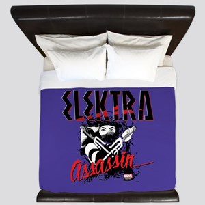Elektra Assassin 2 King Duvet