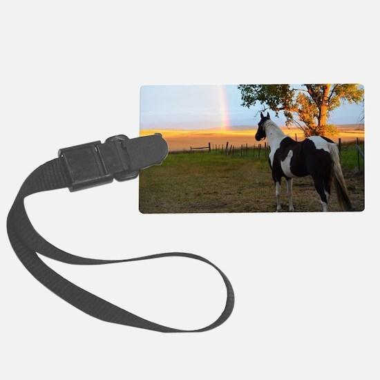 Funny Horse Luggage Tag