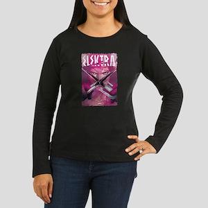 Elektra Crow Women's Long Sleeve Dark T-Shirt