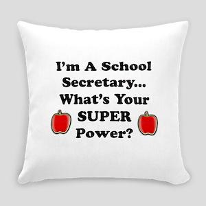School Secretary Everyday Pillow