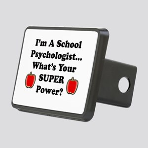 School Psychologist Rectangular Hitch Cover
