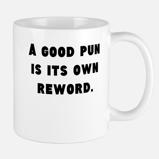 A Good Pun Mugs