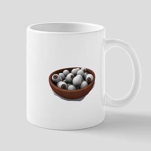 halloween eyeballs Mugs