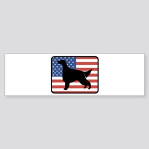 American Irish Setter Bumper Sticker