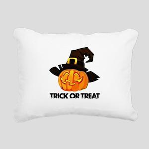 Trick Or Treat Rectangular Canvas Pillow