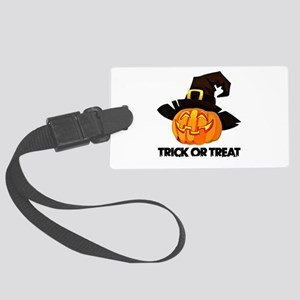 Trick Or Treat Large Luggage Tag