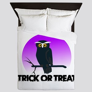 Trick Or Treat Queen Duvet