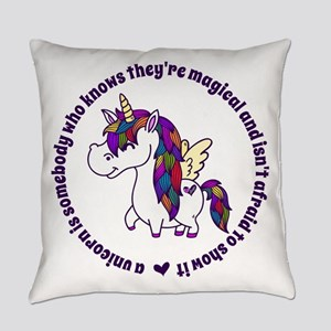 Unicorns Are Magical Everyday Pillow