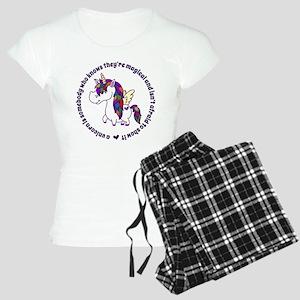 Unicorns Are Magical Women's Light Pajamas