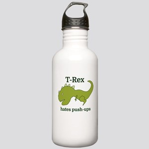 T-Rex hates push-ups Stainless Water Bottle 1.0L
