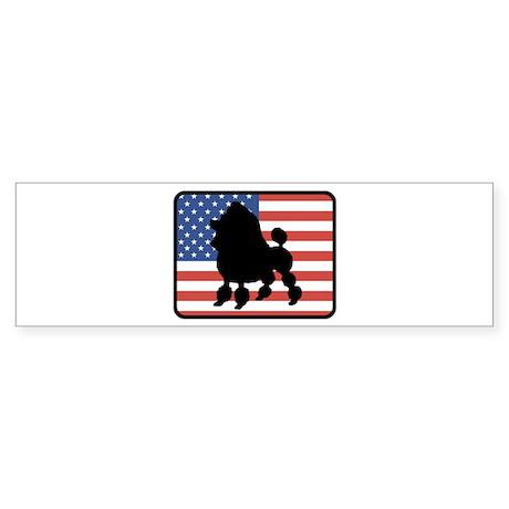 American Toy Poodle Bumper Sticker