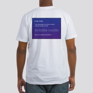 """Invisible Mantle"" Fitted T-Shirt"
