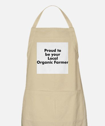 Proud to be your Local Organi BBQ Apron