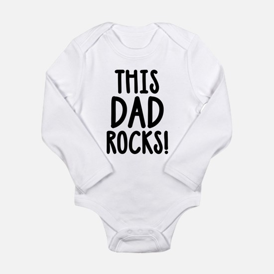 This Dad Rocks! Body Suit