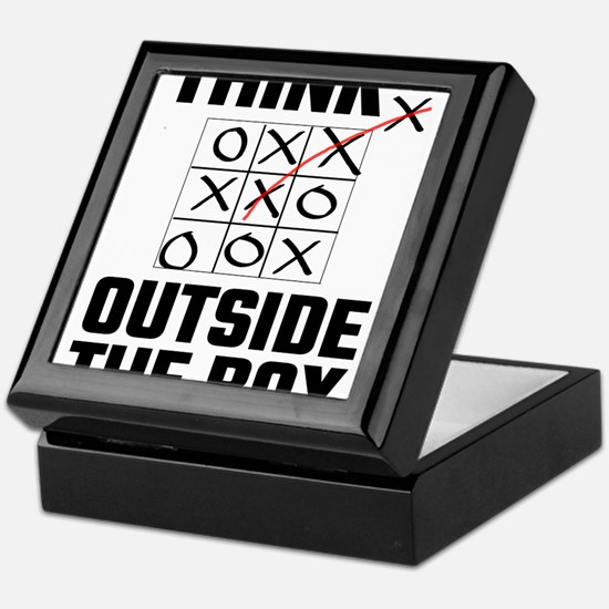 Think Outside The Box Keepsake Box