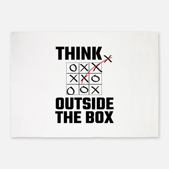 Think Outside The Box 5'x7'Area Rug