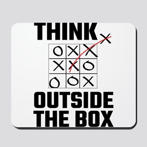 Think Outside The Box Mousepad