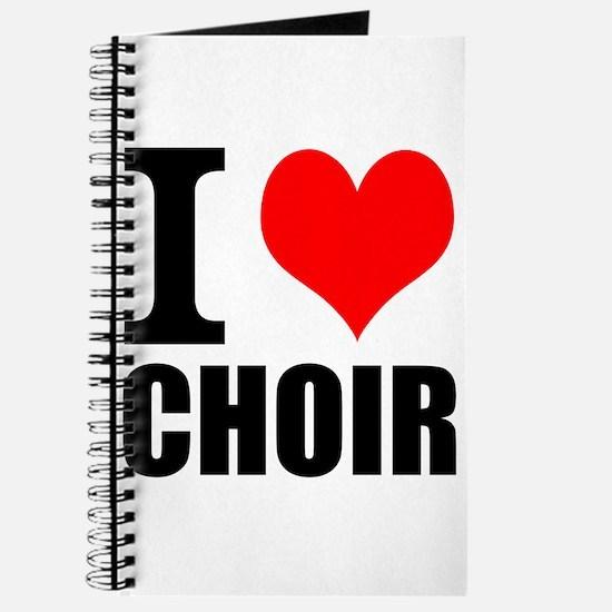 I Love Choir Journal