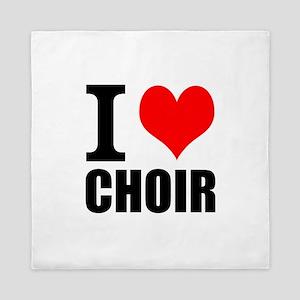I Love Choir Queen Duvet