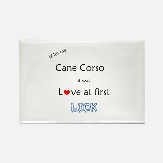 Cane Corso Lick Rectangle Magnet