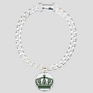 The queen is 40 long liv Charm Bracelet, One Charm