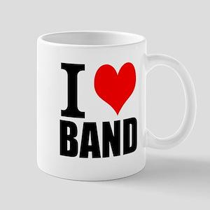 I Love Band Mugs