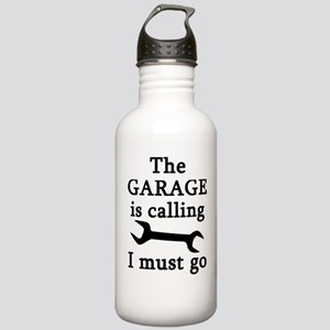 The Garage Is Calling Stainless Water Bottle 1.0L