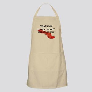 That's too much bacon - said no one, ever Apron
