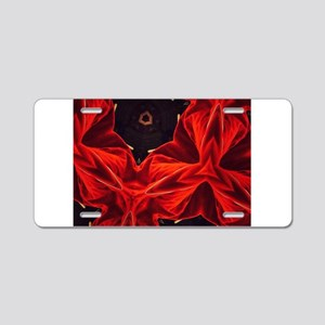 Red Wonder Alessandra's Fav Aluminum License Plate