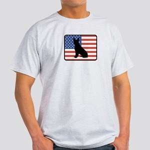 American Boston Terrier Light T-Shirt