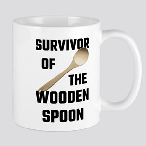 Survivor Of The Wooden Spoon Mugs