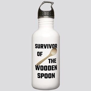 Survivor Of The Wooden Stainless Water Bottle 1.0L