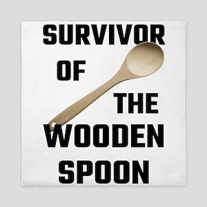 Survivor Of The Wooden Spoon Queen Duvet