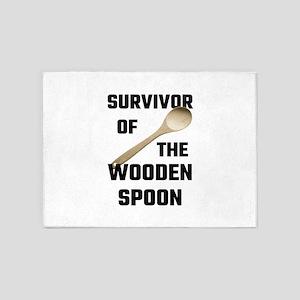 Survivor Of The Wooden Spoon 5'x7'Area Rug