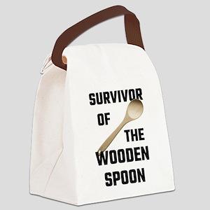 Survivor Of The Wooden Spoon Canvas Lunch Bag