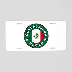 Guadalajara Aluminum License Plate