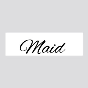 "Rainbow ""Maid of Honor"" 36x11 Wall Decal"