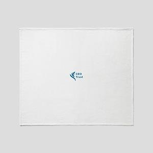 CEO Trust Throw Blanket