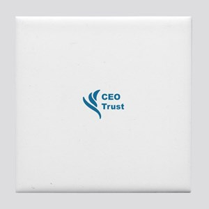 CEO Trust Tile Coaster