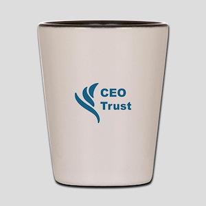 CEO Trust Shot Glass