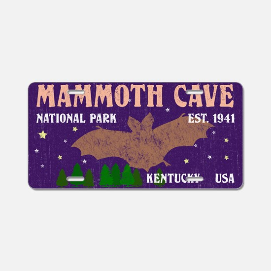 Funny National park Aluminum License Plate