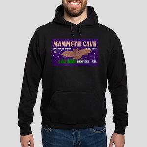 Mammoth Cave Bats Night Sky National Hoodie (dark)