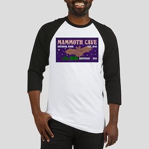 Mammoth Cave Bats Night Sky Nation Baseball Jersey