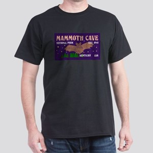 Mammoth Cave Bats Night Sky National Park T-Shirt