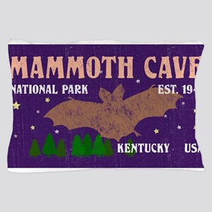 Mammoth Cave Bats Night Sky National P Pillow Case