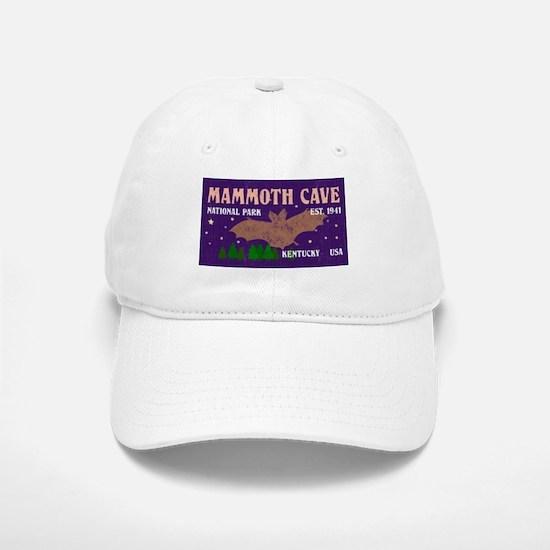Mammoth Cave Bats Night Sky National Park Baseball Baseball Cap