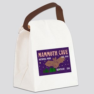 Mammoth Cave Bats Night Sky Natio Canvas Lunch Bag