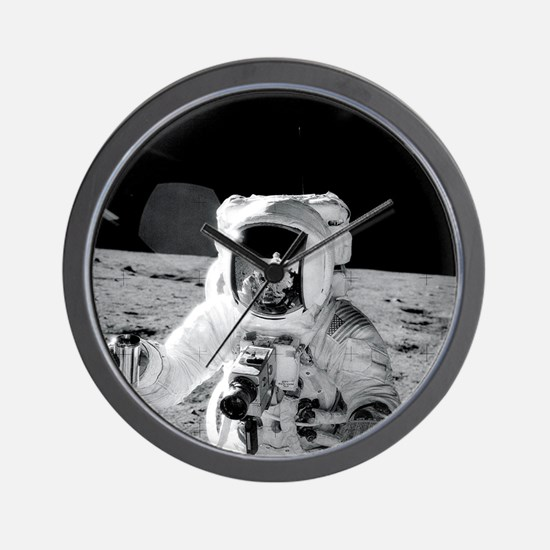 Apollo12 Shirt.png Wall Clock